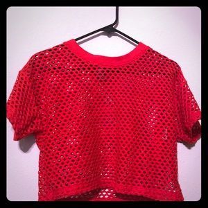 ❤️Red Crop Top 👚